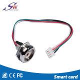 LEDを持つ亜鉛合金の接触メモリ読取装置かIbuttonの読取装置