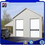 Structure métallique légère préfabriquée galvanisée à chaud pour le garage
