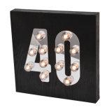 Nuovo indicatore luminoso del LED con l'età per la decorazione domestica