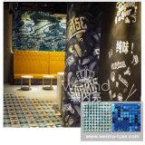 2016 nueva decoración del papel pintado de la pintada del arte DIY de la pared del cequi del reflejo