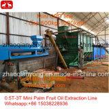 1t-5t/H de goedkope Kleine Lijn van de Extractie van de Palmolie van het Type