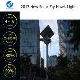 Indicatore luminoso solare del sensore LED del giardino della via di nuovo disegno per il progetto di governo