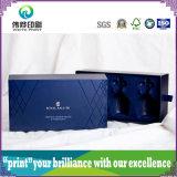 UV упаковывая бумажная коробка подарка (для роскошного Wisky)