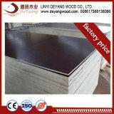 Les matériaux de construction Fsc contreplaqué de bois de peuplier 18mm Film face coffrage de béton de contreplaqué de contreplaqué