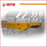 Het elektrische Gedreven Vlakke Karretje van het Vervoer van het Spoor met Afstandsbediening