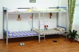 Cómodo y resistente bastidor de acero de la escuela dormitorio litera