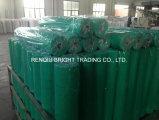 acoplamiento resistente alcalino verde de la fibra de vidrio de 160G/M2 5X5m m de los materiales de construcción