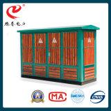 Transformador do tipo caixa combinada subestação da área residencial