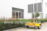 P8 P10 Full Matrix Affichage LED Mobile Advertising Trailer