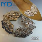 Блестящий Кристалл Rhinestone для Женщин Пряжки Платье Обувь