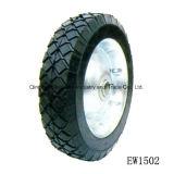 """8 인치 8 """" X1.75 """" 반 압축 공기를 넣은 외바퀴 손수레 고품질 자연 고무 타이어"""