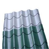 La couleur des matériaux de construction de la peinture classique du panneau de toit en acier galvanisé ondulé