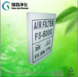 25mm de espesor total de 600 g de fibra de vidrio de cola Filtro de techo Roll