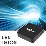 PRO Android7.1.2 Amlogics905X 2GB RAM/16GB casella in pieno caricata della ricevente satellite IPTV del contenitore di ROM TV di Mxq con WiFi, supporto di 4K 1080P HD