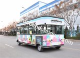 Het multifunctionele Gunstige Mobiele Ontwerp van de Kar van het Voedsel/de Mobiele Elektrische Vrachtwagen van de Verkoop
