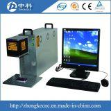 Machine d'inscription de laser de commande numérique par ordinateur de fibre à vendre