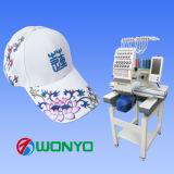 Einzelner Kopf computergesteuerter Stickerei-Maschinen-Hochgeschwindigkeitsschutzkappen-Maschinen-Preis in China