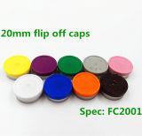 Pharmaceutucal 사용을%s 알루미늄 플라스틱 모자