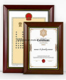 A decoração da estrutura de madeira de alta qualidade para Cert4 & License