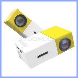 600 lúmenes de 1300mAh CC12V 2A LA IMAGEN DEL PROYECTOR HD 1080P Yg300 Micro proyector LED Digital