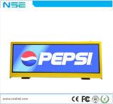 P2.5 P3 P5 IP65 Digitahi LED che fanno pubblicità allo schermo per il tetto della parte superiore del tassì
