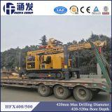 Hfx400/500クローラーによって取付けられる移動式井戸の掘削装置機械