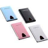 Trois cartes d'affichage à cristaux liquides à affichage numérique Slim Mobile Power Bank (PB-J60)
