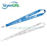 선전용 Gift Ribbon Strap Custom Printed 또는 Heat Transfer Lanyard