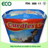 Couche-culotte somnolente remplaçable de bébé de coton économique de nouveaux produits