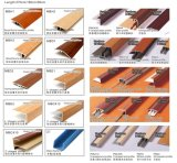 Profils multifonctionnels de plancher Alu Mbe Series Wood Coated