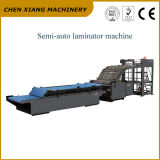 Semi-Автоматический ламинатор каннелюры коробки