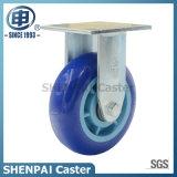 Roue à roulette industrielle pivotante polyuréthane polyvalente robuste