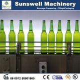 Máquina de enchimento de cerveja em garrafa de vidro