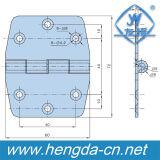 Yh9407 em aço inoxidável de alta qualidade da dobradiça do gabinete