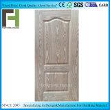 Placage en bois moulé HDF/MDF porte en chêne de la peau