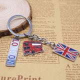 Britische Art-Förderung-kundenspezifisches Zeichen-Metallandenken-Geschenk Keychain