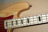 Musique de Hanhai/guitare basse électrique corps de cendre avec 4 chaînes de caractères