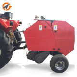 販売のためのカスタマイズされたコンパクトな円形の干し草の梱包機
