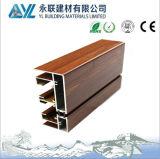 Aluminium en grain en bois pour isolant thermique Fenêtre Frmae