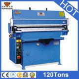 Machine gravante en refief hydraulique de ceinture en cuir de Hg-E120t/a