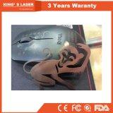 алюминиевое вырезывание лазера волокна CNC металлического листа слабой стали меди стали углерода нержавеющей стали 500W-3000W/машина резца