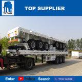 Het Voertuig van de titaan - de Aanhangwagen van de Lading van de Oplegger van het Type van Omheining Flatbed