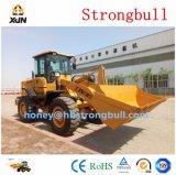 3 van de Chinese van Lage Kosten Hydraulische ton Lader Van uitstekende kwaliteit van het Wiel