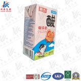 Embalagem asséptica para o leite e o suco