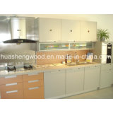 Venta caliente estilo Panel modernos gabinetes de cocina