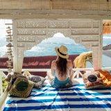 Máquina de ultra absorvente de camurça toalha de praia em microfibra lavável