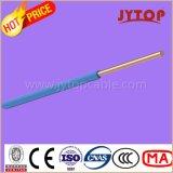 H05V-U / H07V-U / R Fil en cuivre, isolé PVC Câbles monocouches non cisaillés avec conducteur en cuivre