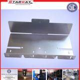 Kundenspezifischer CNC-Präzisions-Edelstahl-Blech-Feld-Kappen-Abdeckungs-Platten-Flamme-Laser-Locher, der Plasma-Laser-Ausschnitt (Aluminium stempelt, Legierung)