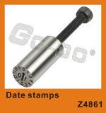O molde parte os selos de tâmara de aço
