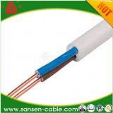 Cabo de alimentação flexíveis de PVC H03VV-F cabo direito da luz de retardantes de chama